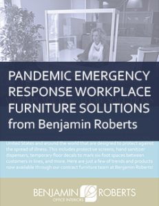 pandemic emergency response workplace furniture solutions