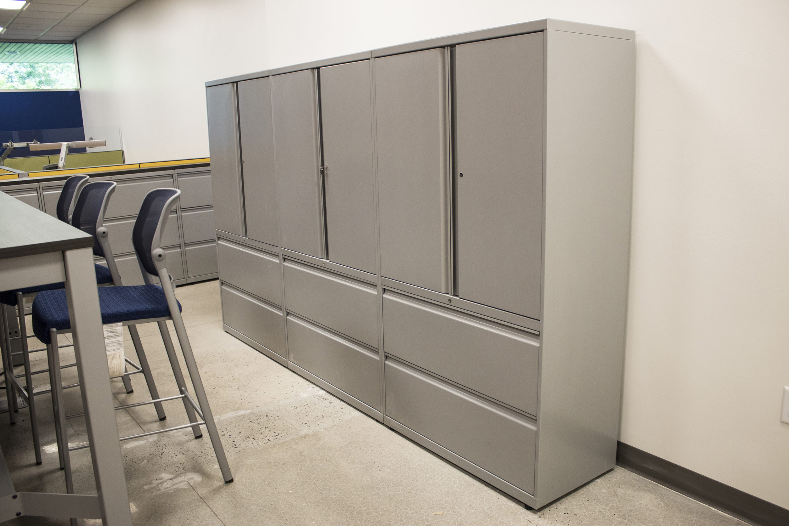 Four Person Office Storage Unit