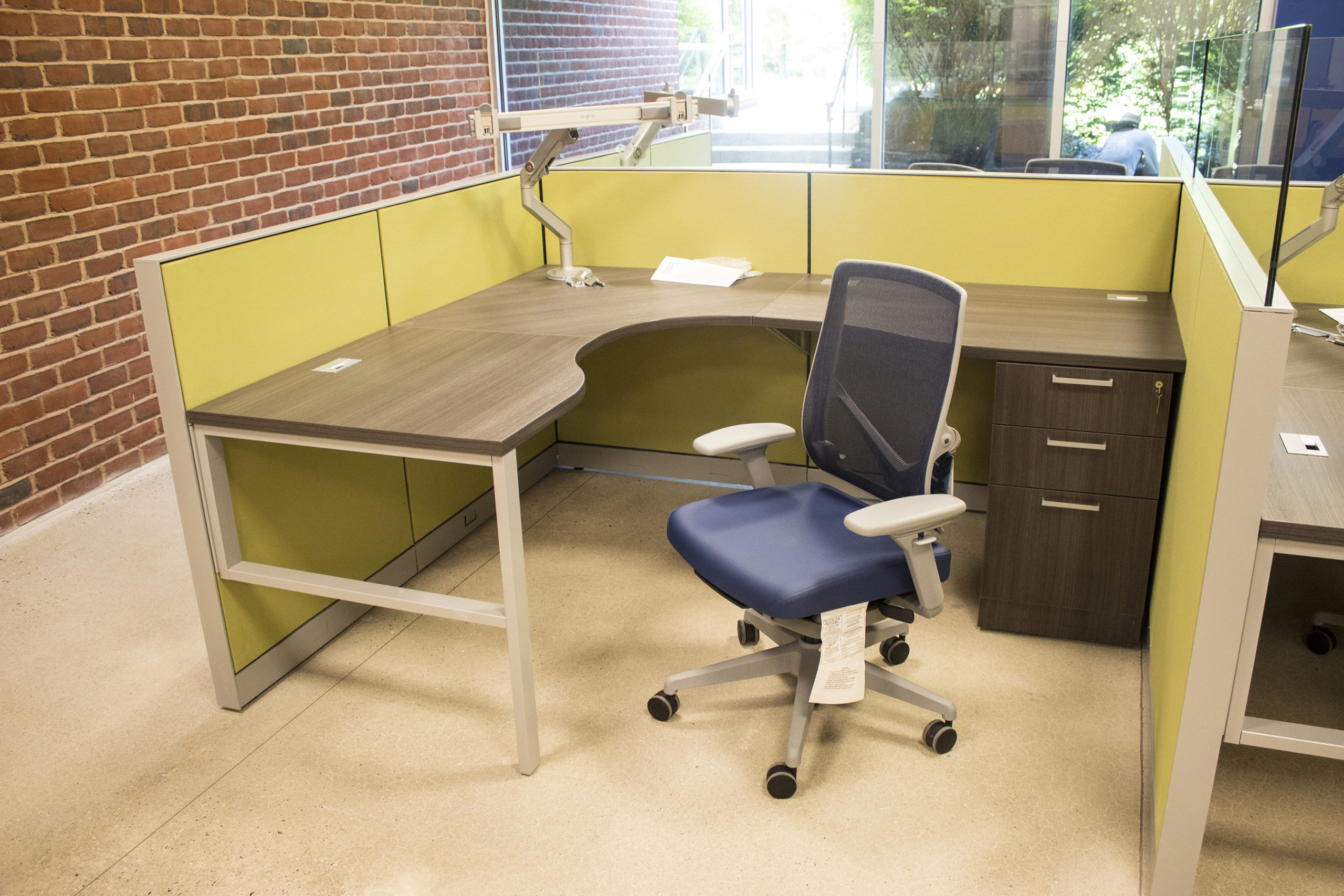 Four Person Office Workstation - Copy